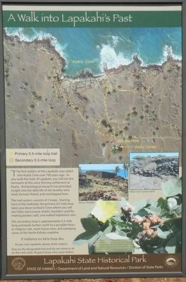 A Walk into Lapakahi's Past image. Click for full size.