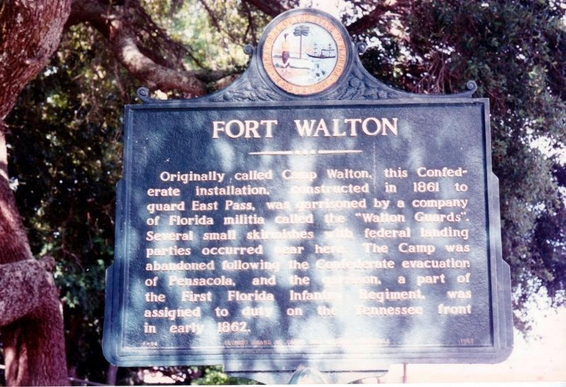 Fort Walton Marker image. Click for full size.