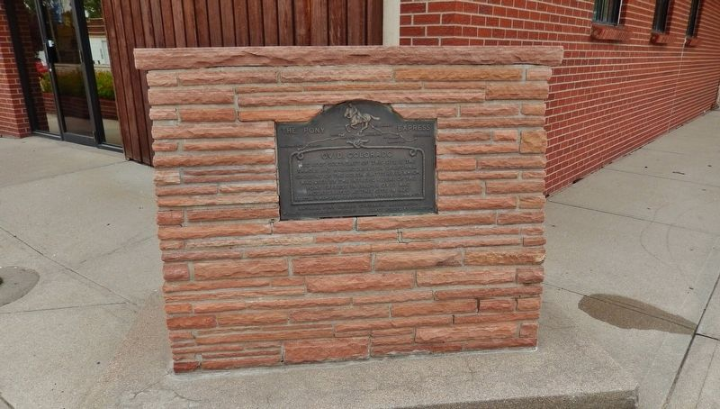 Ovid, Colorado Marker (<i>wide view</i>) image. Click for full size.