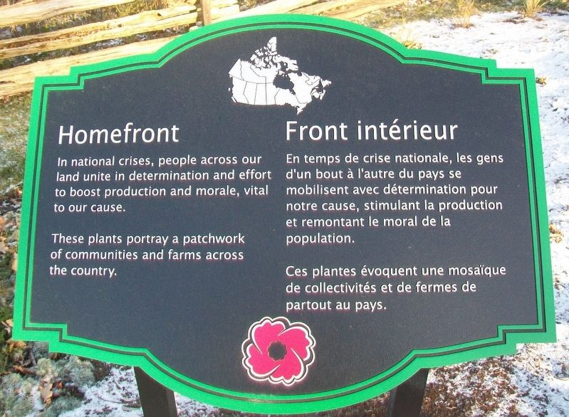 Homefront / Front intérieur Marker image. Click for full size.