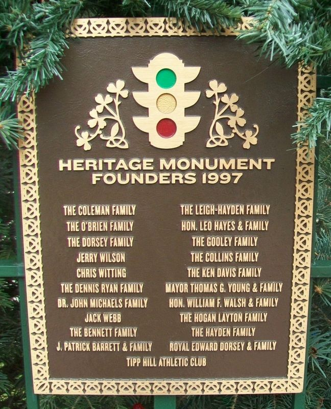 Heritage Monument Founders 1997 Marker image. Click for full size.