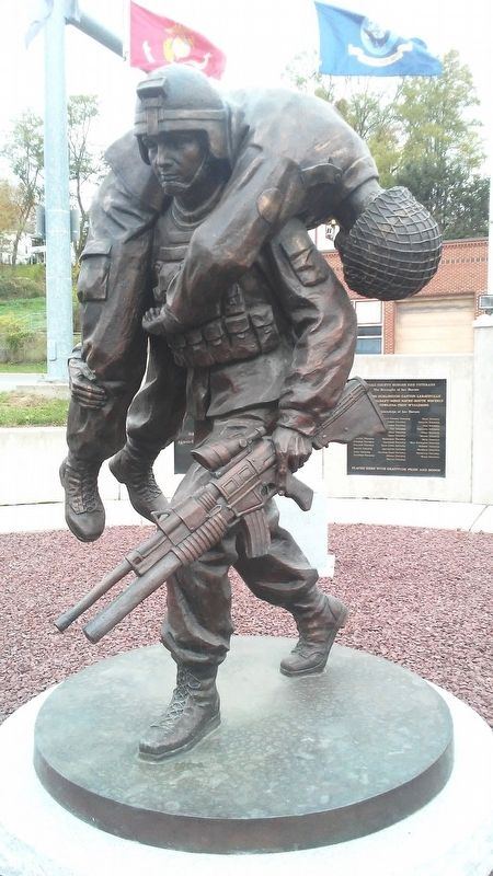 The Quintessential Soldier Statue image. Click for full size.