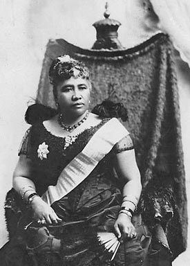 Queen Lili'uokalani image. Click for full size.