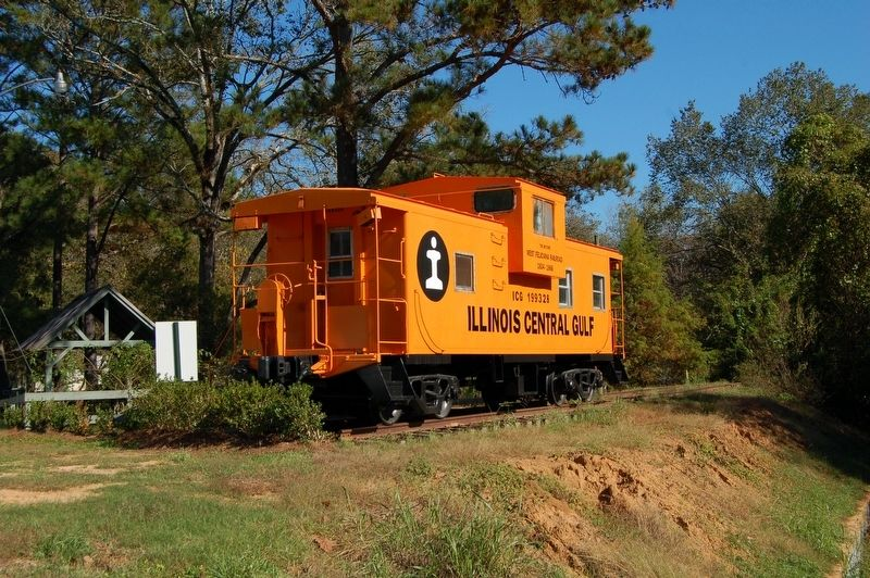The Historic West Feliciana Railroad Caboose image. Click for full size.