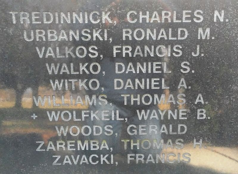 Vietnam Veterans Memorial Honored Dead image. Click for full size.