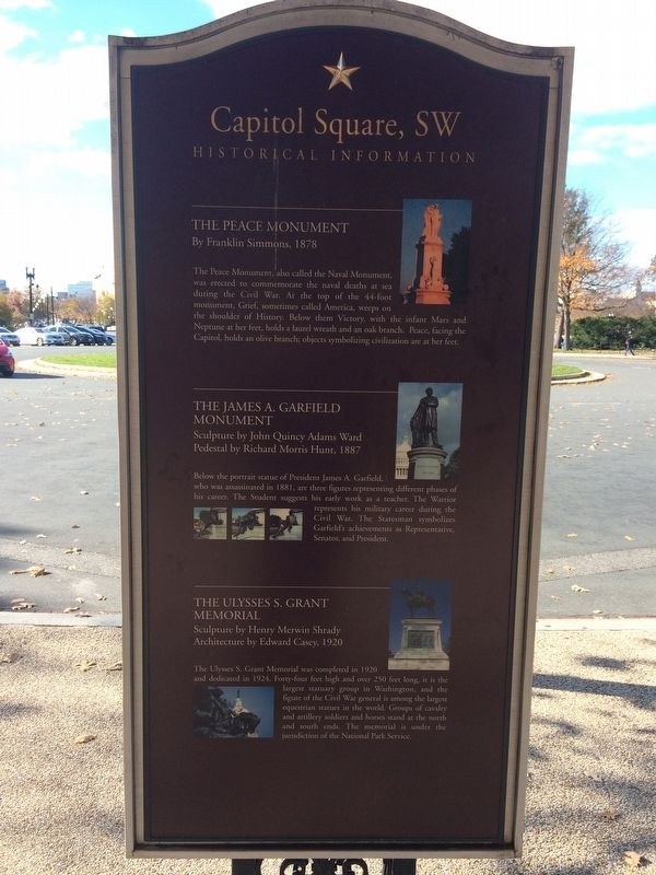 Capitol Square, SW Marker image. Click for full size.
