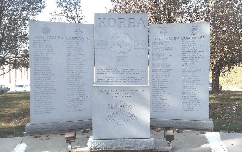 109th Field Artillery Battalion Memorial image. Click for full size.