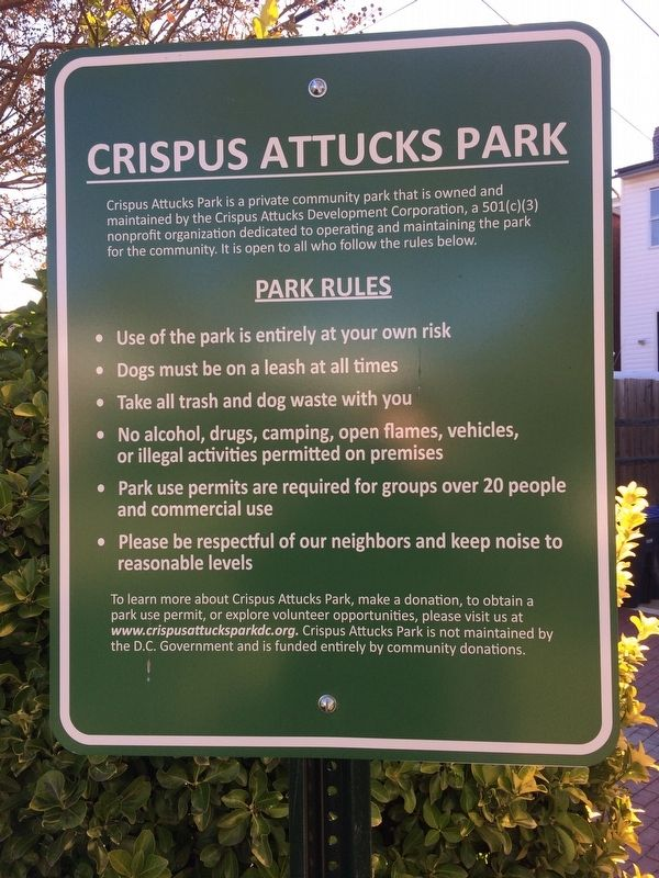 Crispus Attucks Park image. Click for full size.