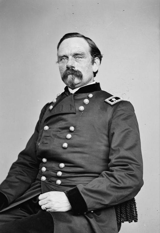 Union Major General Peter Joseph Osterhaus image. Click for full size.