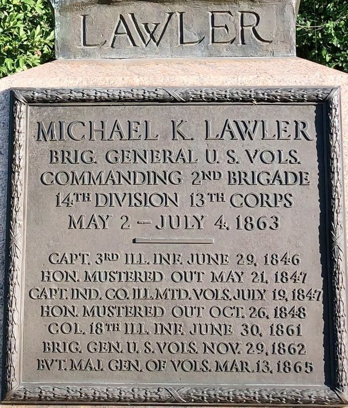 Michael K. Lawler Marker image. Click for full size.