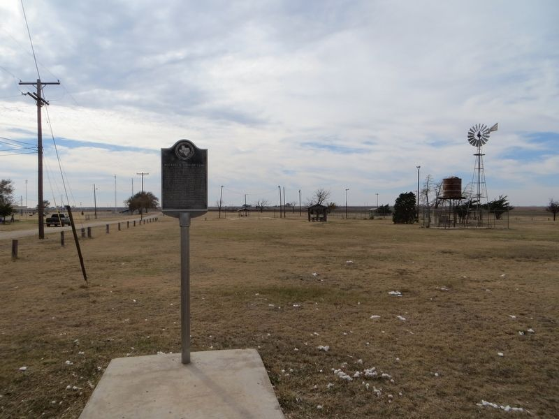 Site of Mackenzie Cavalry Camp Marker image. Click for full size.