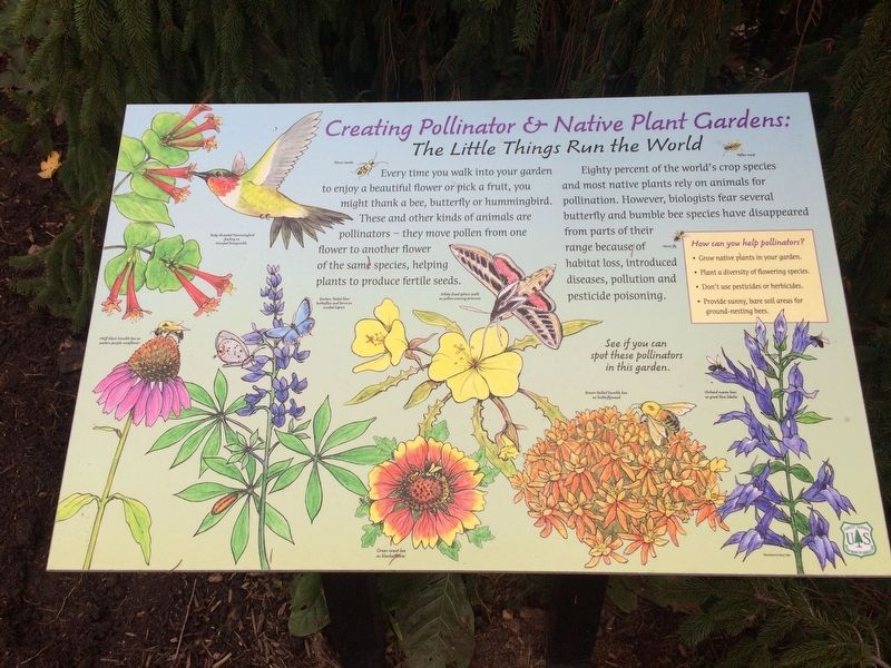 Creating Pollinator & Native Plant Gardens: Marker image. Click for full size.