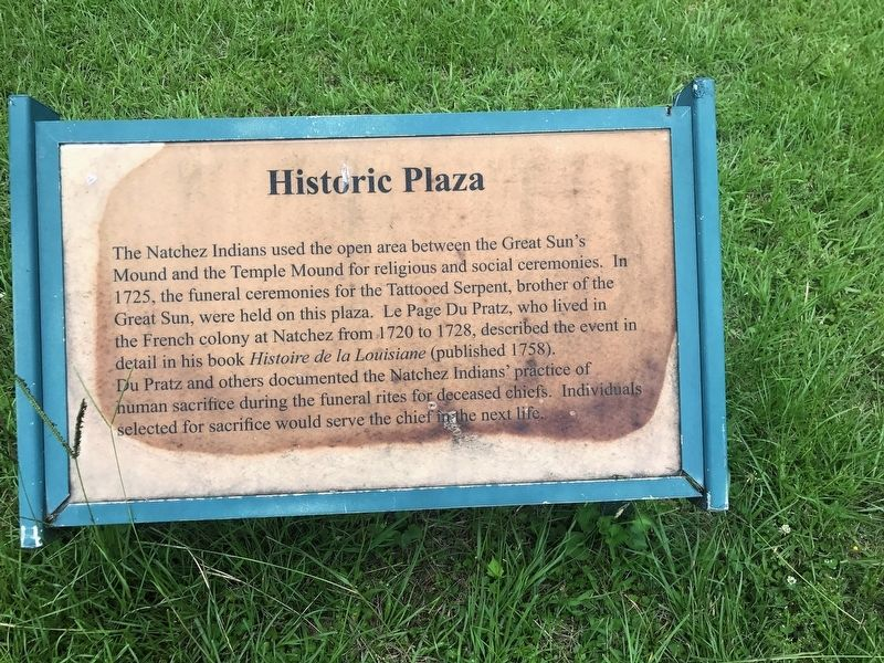 Historic Plaza Marker image. Click for full size.