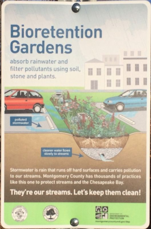 Bioretention Gardens Marker image. Click for full size.