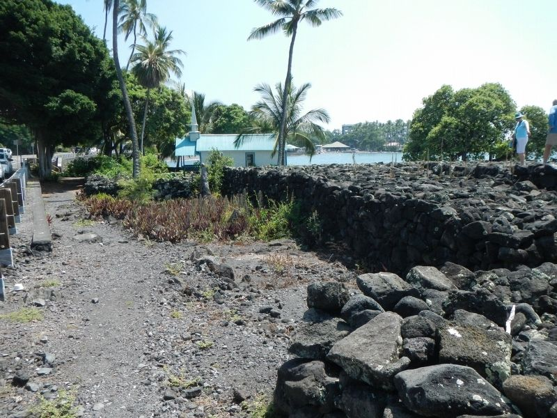 Kuemanu Heiau image. Click for full size.