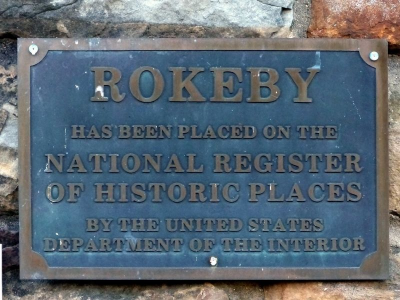 Rokeby Marker image. Click for full size.
