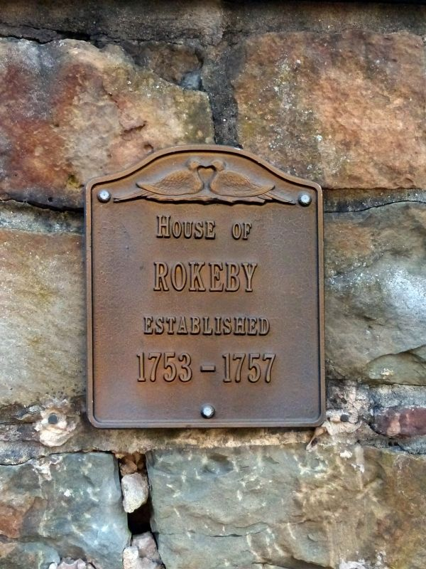 House of Rokeby<br>Established 1753 - 1757 image. Click for full size.