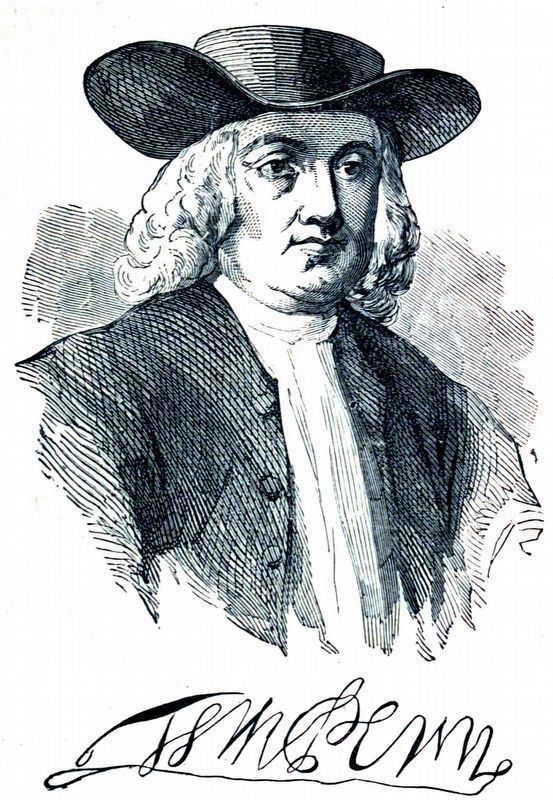 William Penn image. Click for full size.
