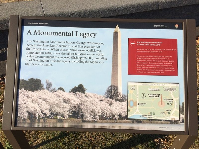 A Monumental Legacy Marker image. Click for full size.