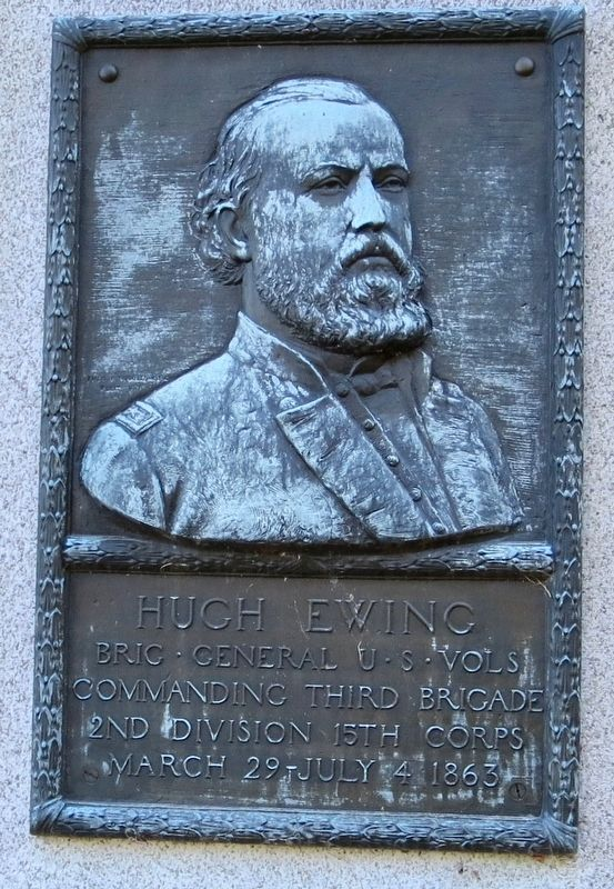 Hugh Ewing Marker image. Click for full size.