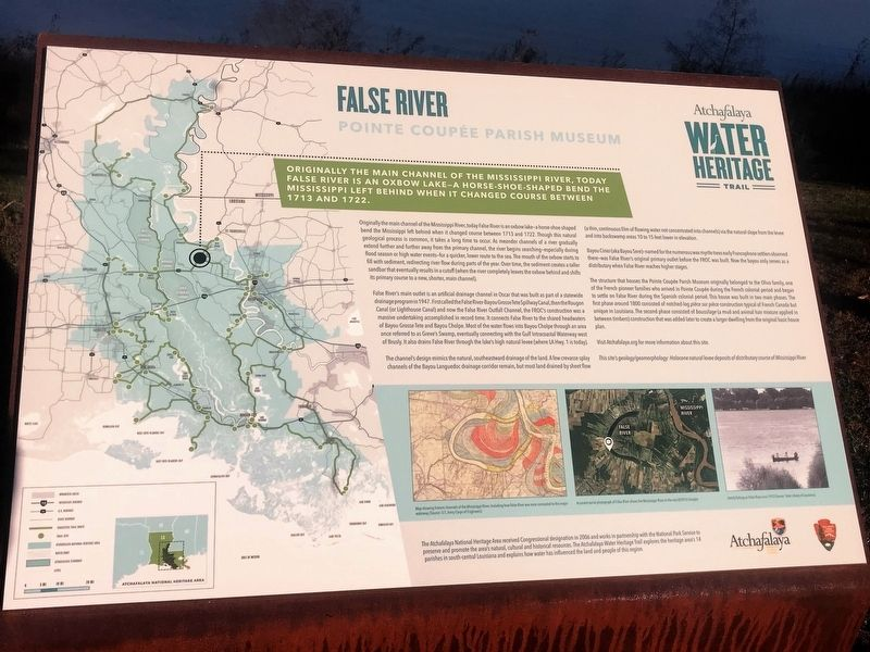 False River Marker image. Click for full size.