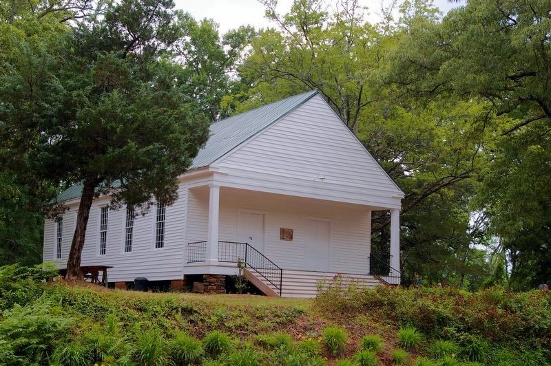 Wrightsboro Friends Meeting House and Marker image. Click for full size.