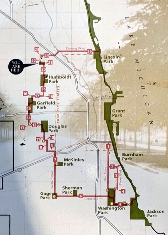 The Boulevard System Map image. Click for full size.
