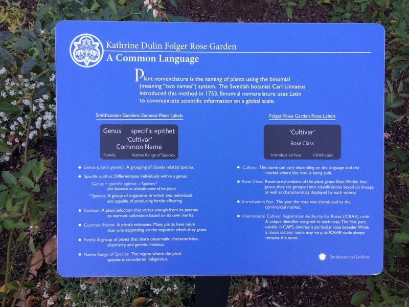 A Common Language Marker image. Click for full size.