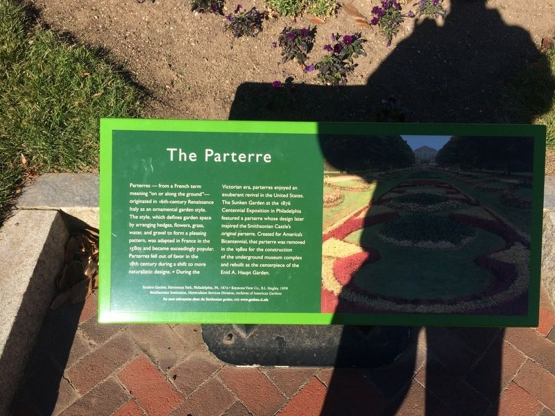 The Parterre Marker image. Click for full size.