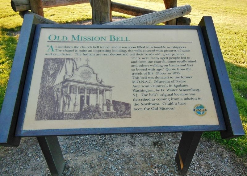 Old Mission Bell Marker image. Click for full size.