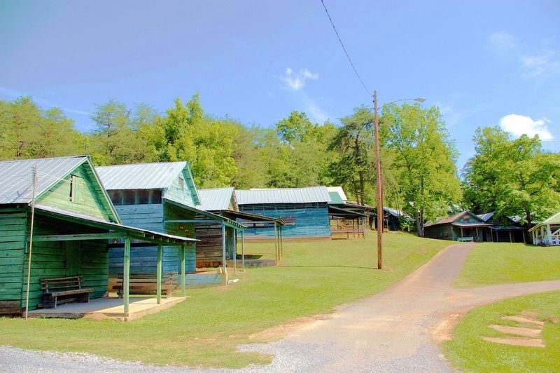 Family Cabins at the Pine Log Methodist Church image. Click for full size.