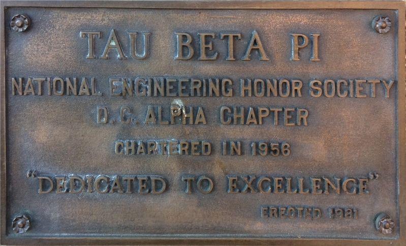 Tau Beta Pi Marker image. Click for full size.