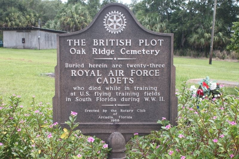The British Plot Marker image. Click for full size.