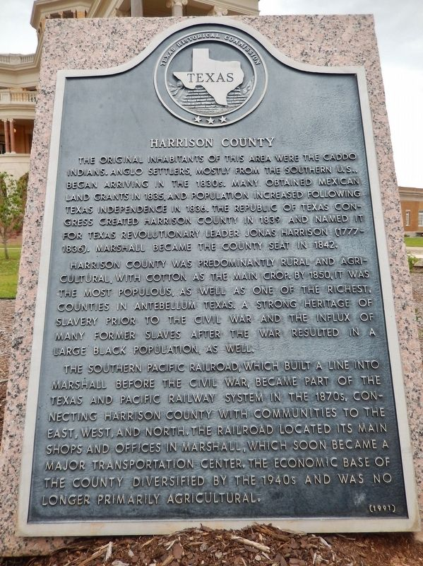 Harrison County Marker image. Click for full size.