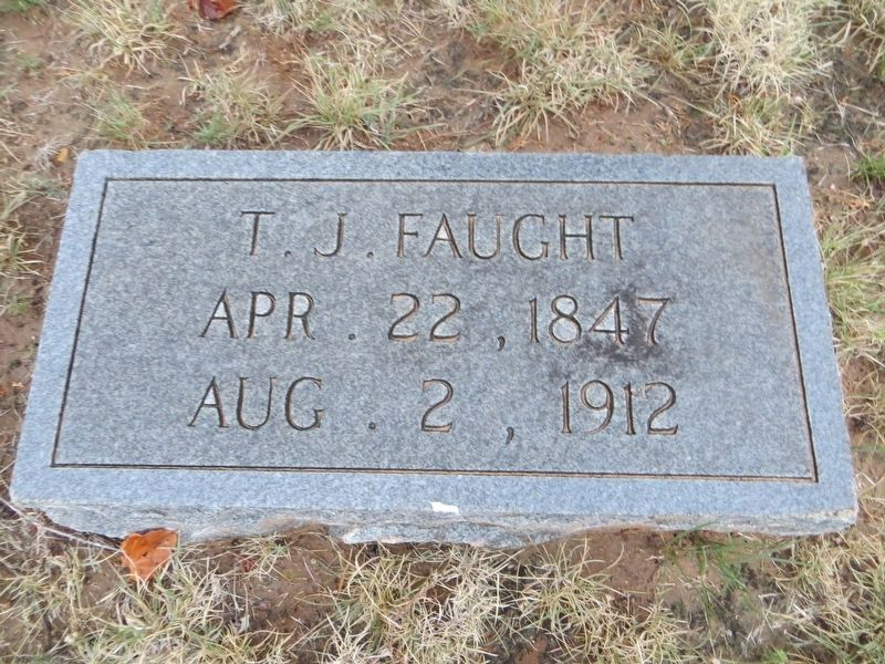 T. J. Faught Marker image. Click for full size.