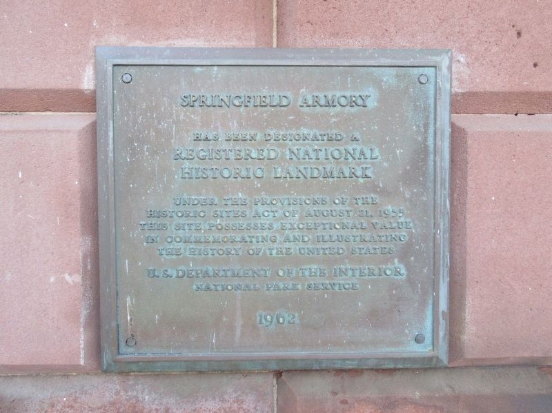 Springfield Armory Marker image. Click for full size.