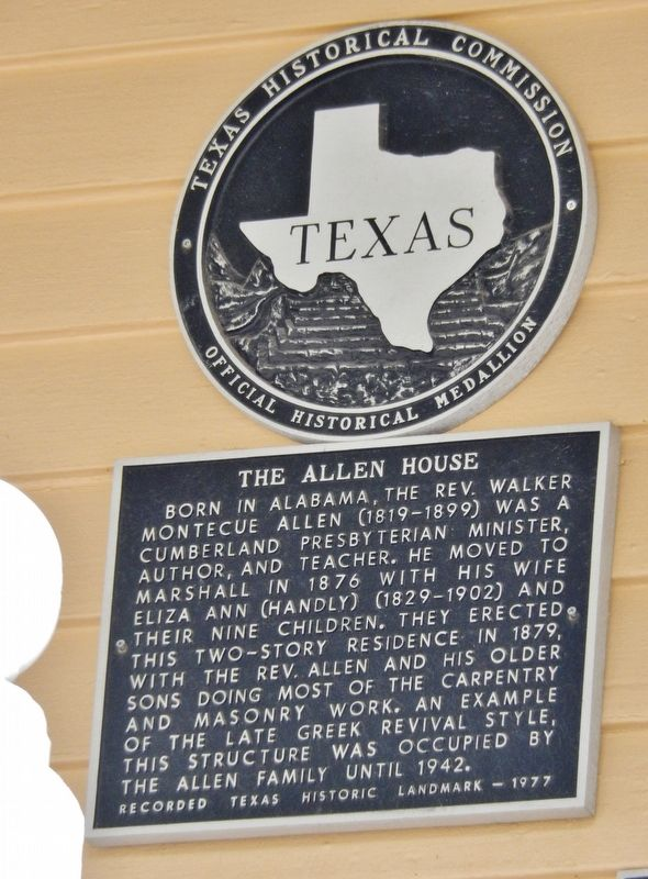 The Allen House Marker image. Click for full size.