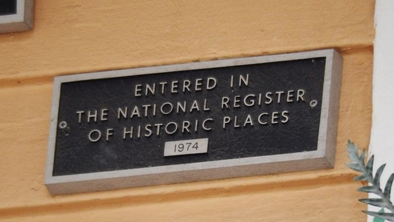 The Allen House (<i>National Register of Historic Places Marker</i>) image. Click for full size.