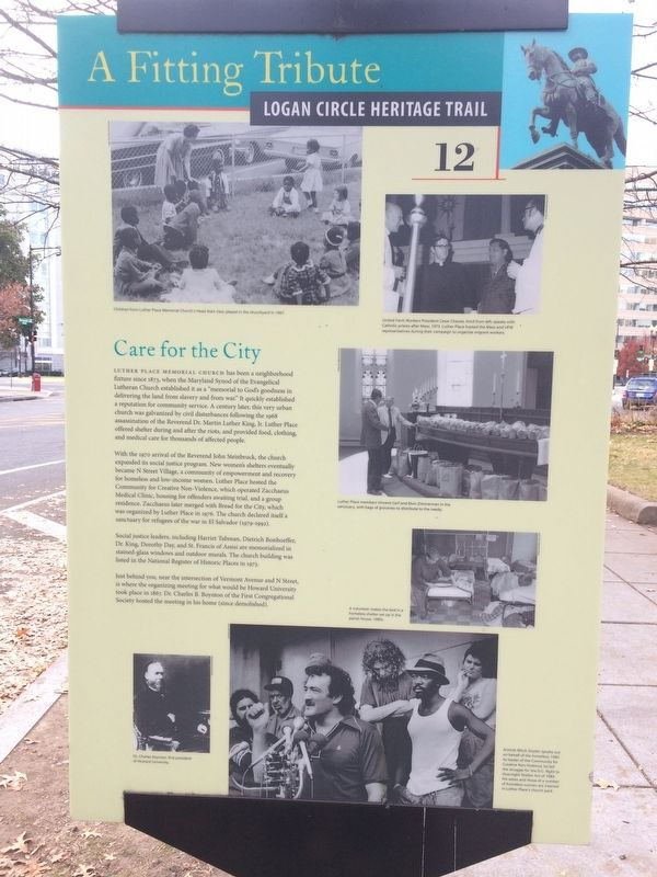 Care for the City Marker image. Click for full size.