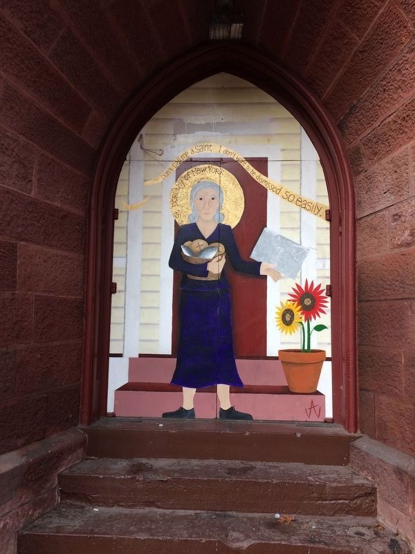 Dorothy Day Mural image. Click for full size.