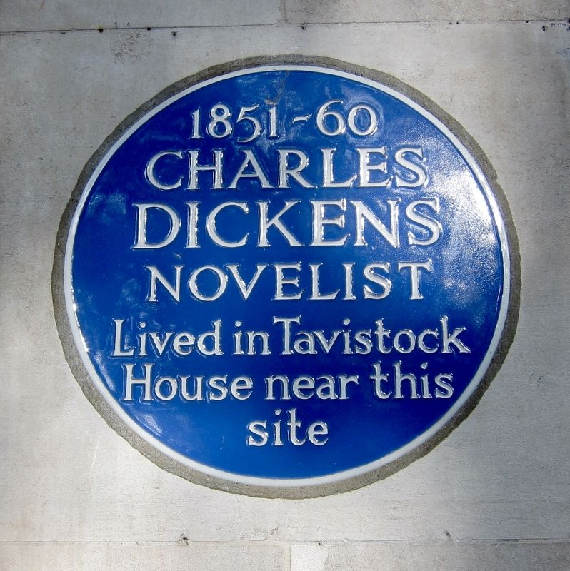 Charles Dickens Marker image. Click for full size.