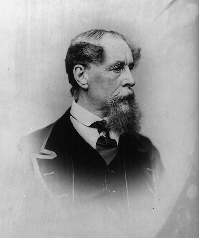 Charles Dickens image. Click for full size.