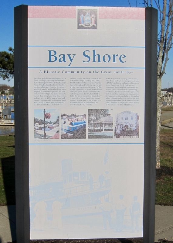 Bay Shore Marker image. Click for full size.