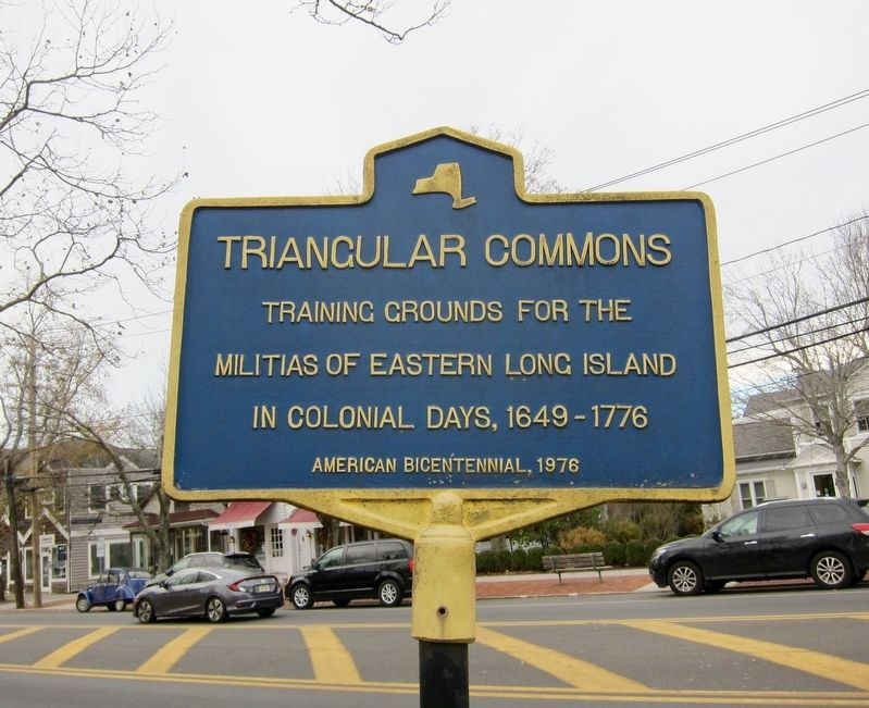 Triangular Commons Marker image. Click for full size.