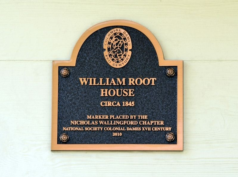 William Root House Marker image. Click for full size.