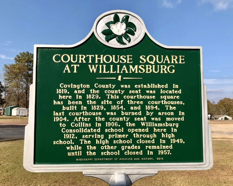 Courthouse Square at Williamsburg Marker image. Click for full size.