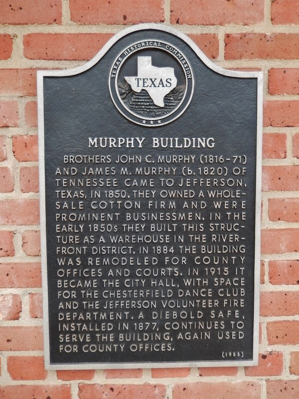 Murphy Building Marker image. Click for full size.