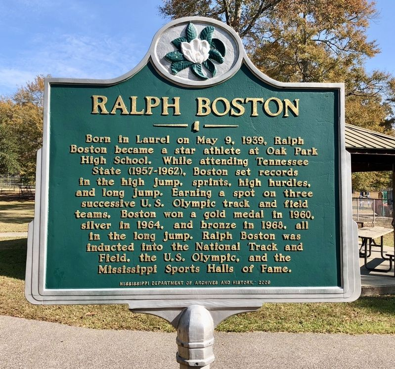 Ralph Boston Marker image. Click for full size.