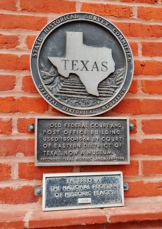 Old Federal Court and Post Office Building Marker image. Click for full size.