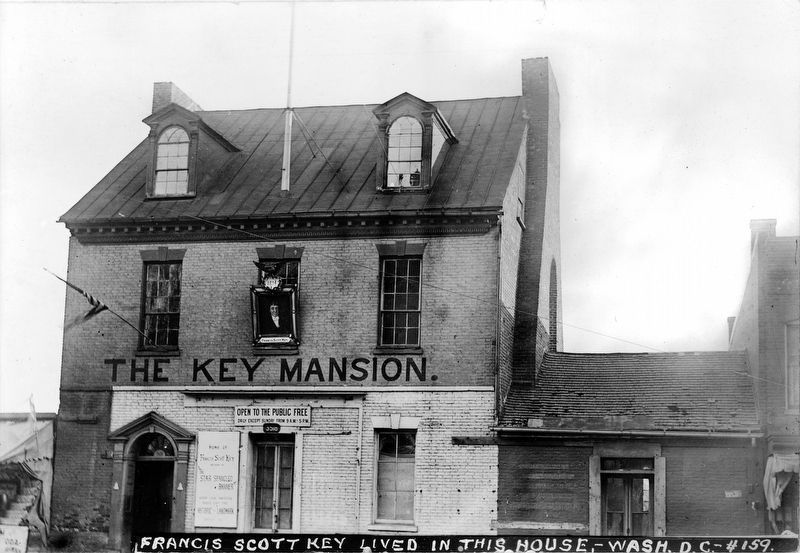 The Key Mansion<br>Francis Scott Key lived in this House image. Click for full size.